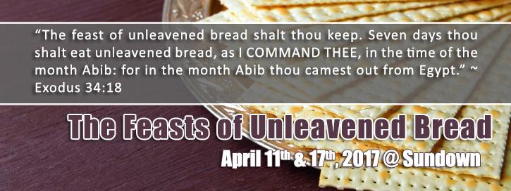 Unleavened bread bible study
