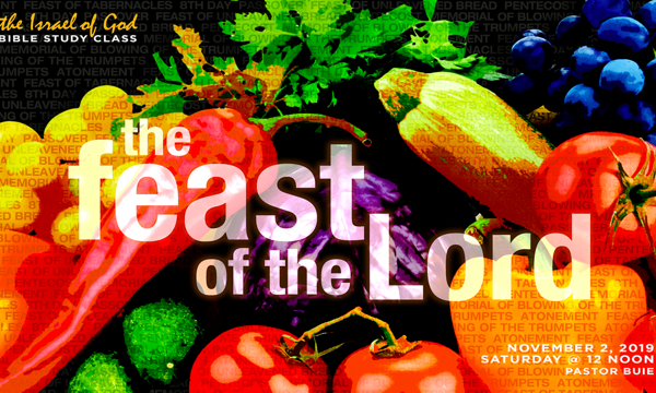 "Graphic for IOG lesson ""The Feast of the Lord"""