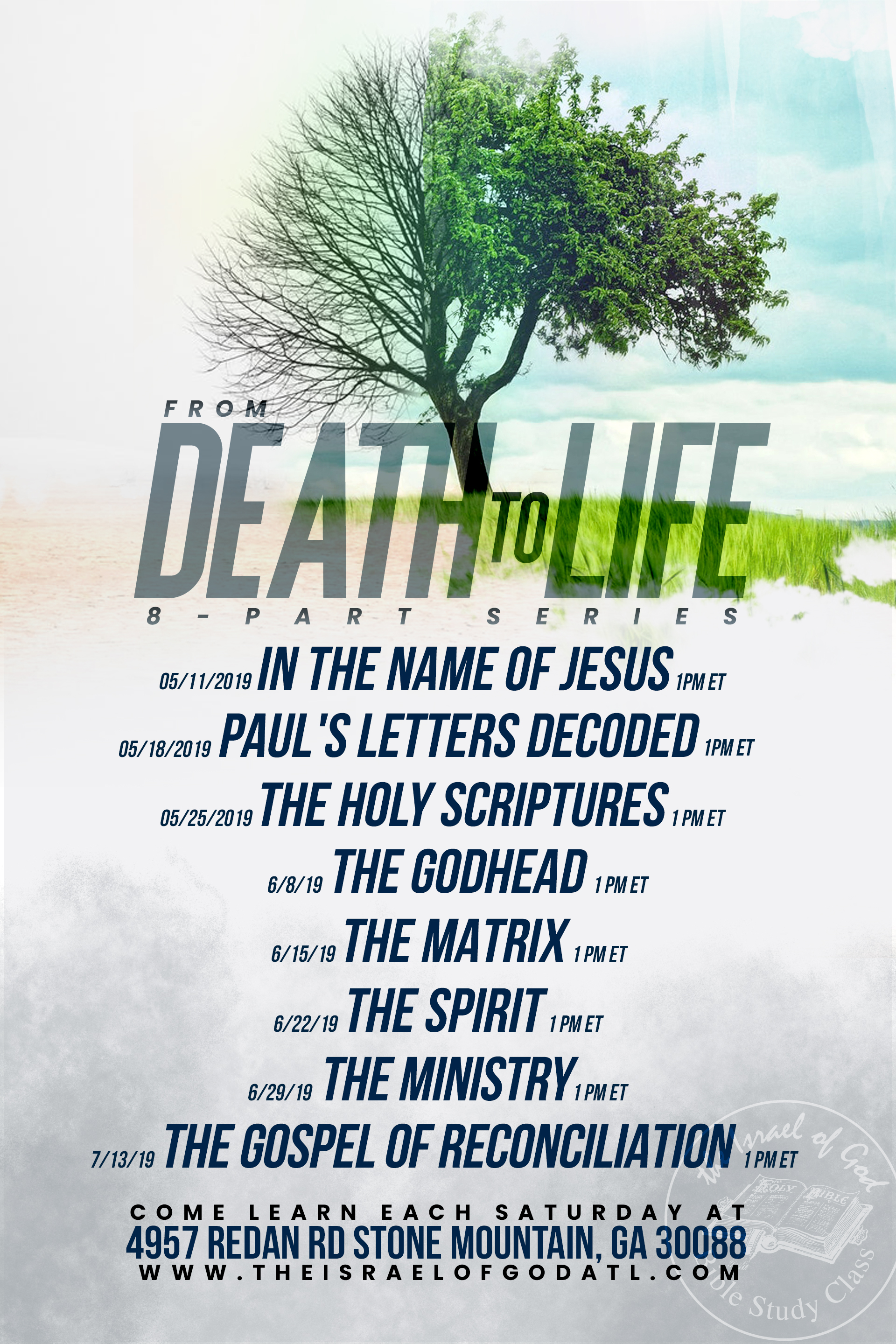From Death to Life: 8-Part Series | The Israel of God