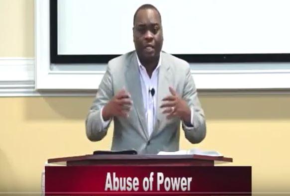 Bible Speaks | Bro. Antwan teaching Abuse of Power