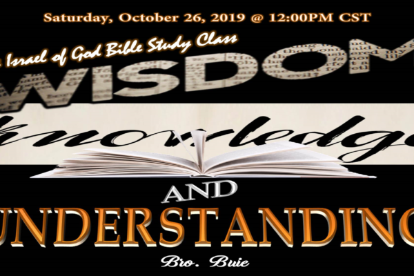 "Graphic title for IOG lesson ""Wisdom, Knowledge, and Understanding"""